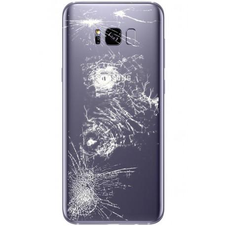 [Réparation] Vitre Arrière ORIGINALE Orchidée / Violet - SAMSUNG Galaxy S8 - SM-G950F