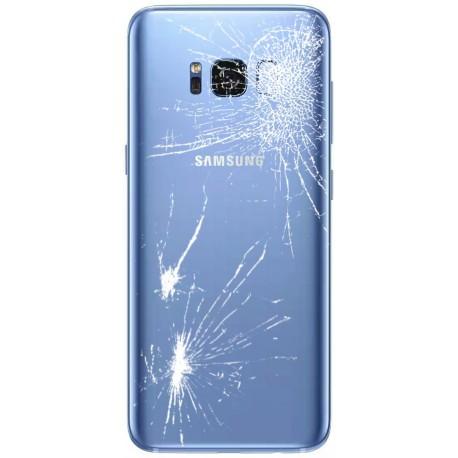 [Réparation] Vitre Arrière ORIGINALE Bleue Océan - SAMSUNG Galaxy S8 - SM-G950F