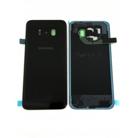 Vitre Arrière ORIGINALE Noire Carbone - SAMSUNG Galaxy S8+ - SM-G955F