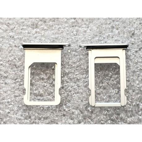 Tiroir de carte sim ORIGINAL - iPhone 7 Plus Argent