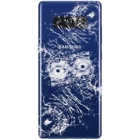 [Réparation] Vitre Arrière ORIGINALE Bleue Roi - SAMSUNG Galaxy Note8 / SM-N950F Simple SIM
