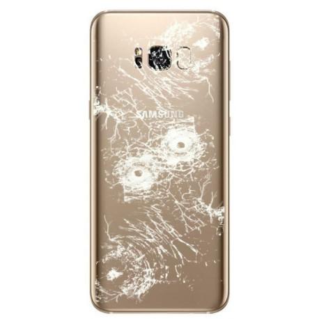 [Réparation] Vitre Arrière ORIGINALE Or Erable - SAMSUNG Galaxy S8 - SM-G950F