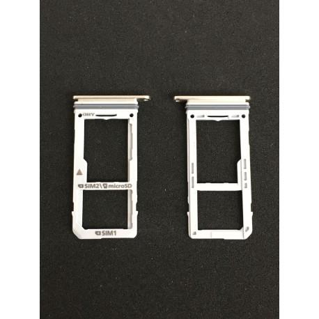 Tiroir de carte sim Or ORIGINAL - SAMSUNG Galaxy Note8 / SM-N950F / SM-N950F/DS
