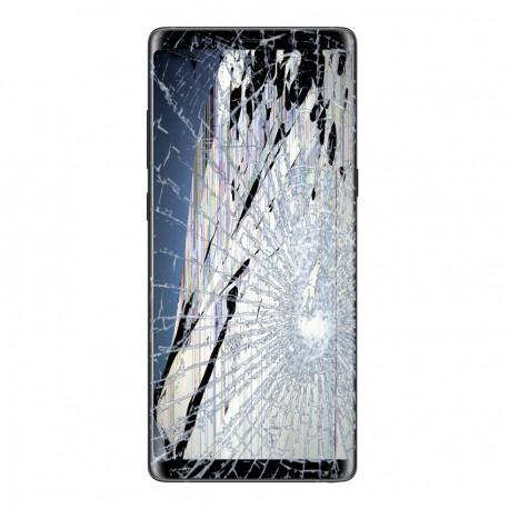 [Réparation] Bloc Avant ORIGINAL Noir Carbone - SAMSUNG Galaxy Note8 / SM-N950F / SM-N950F/DS