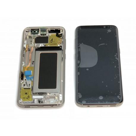Bloc écran ORIGINAL Or Erable pour SAMSUNG Galaxy S8 - G950F - Présentation avant / arrière