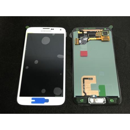 Bloc Avant ORIGINAL Blanc - SAMSUNG Galaxy S5 - G900F / G901F