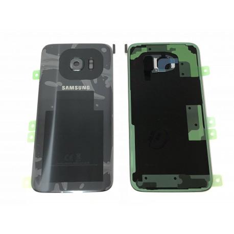 Vitre Arrière ORIGINALE Noire - SAMSUNG Galaxy S7 Edge - G935F