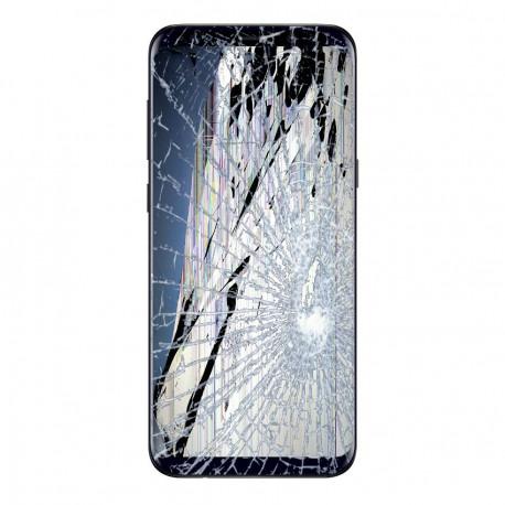[Réparation] Bloc Avant ORIGINAL Noir Carbone - SAMSUNG Galaxy S8+ - SM-G955F