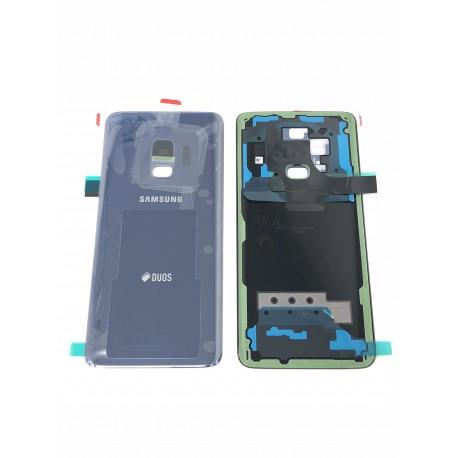 Vitre Arrière ORIGINALE Bleue Corail - SAMSUNG Galaxy S9 / SM-G960F/DS Double SIM