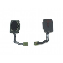 Lecteur d'empreinte digitale Noir Carbone ORIGINAL pour SAMSUNG Galaxy S9 - G960F / Galaxy S9+ - G965F