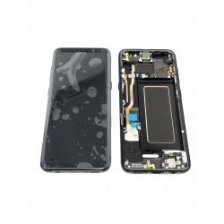 Bloc écran ORIGINAL Noir Carbone pour SAMSUNG Galaxy S8 - G950F