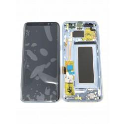 Bloc écran ORIGINAL Bleu Océan pour SAMSUNG Galaxy S8 - G950F