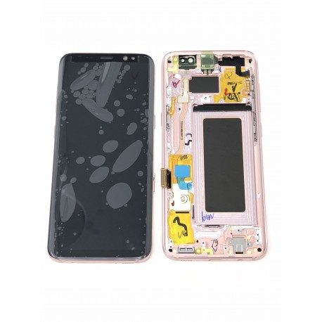 Bloc Avant ORIGINAL Rose Poudré - SAMSUNG Galaxy S8 - SM-G950F