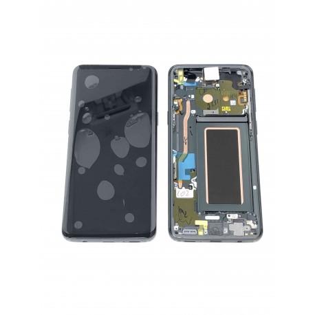 Ecran Complet ORIGINAL Gris Titane - SAMSUNG Galaxy S9 / SM-G960F - Avant / Arrière