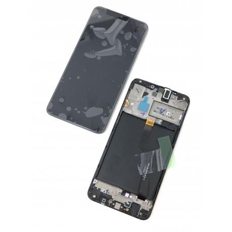 Bloc écran complet ORIGINAL pour SAMSUNG Galaxy A10 version européenne - A105F - Présentation avant / arrière