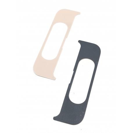 Cache intérieur du slide ORIGINALE or rose pour SAMSUNG Galaxy A80 - A805F - Présentation avant / arrière