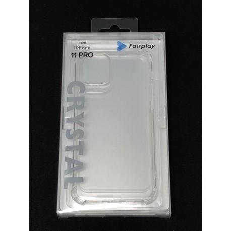 Coque Silicone Transparente Renforcée pour iPhone 11 Pro - Présentation du packaging avant