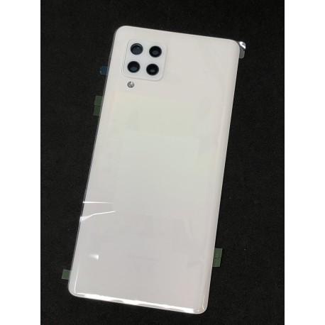 Vitre arrière ORIGINALE Blanc Prismatique pour SAMSUNG Galaxy A42 5G - A426B - Présentation avant
