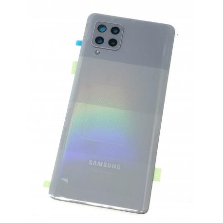 Vitre arrière ORIGINALE Gris Prismatique pour SAMSUNG Galaxy A42 5G - A426B - Présentation avant