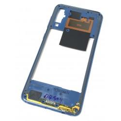 Châssis intermédiaire ORIGINAL avec contour Bleu pour SAMSUNG Galaxy A50 - A505F