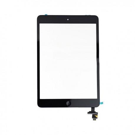 Vitre Tactile ORIGINALE Noire + Adhésifs - iPad Mini