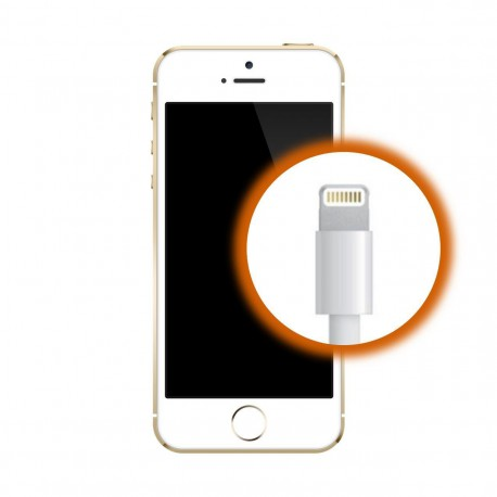 [Réparation] Connecteur de Charge ORIGINAL Blanc - iPhone 5S