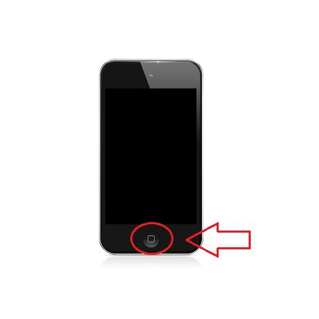 [Réparation] Bouton HOME Blanc - iPod Touch 4