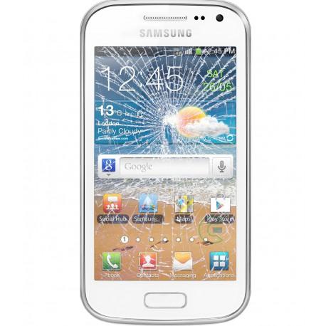 [Réparation] Vitre Tactile ORIGINALE Blanche - SAMSUNG Galaxy ACE 2 - i8160