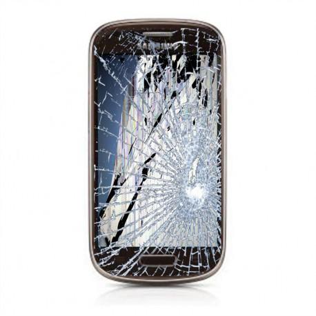 [Réparation] Bloc Avant ORIGINAL Marron - SAMSUNG Galaxy S3 Mini - i8190