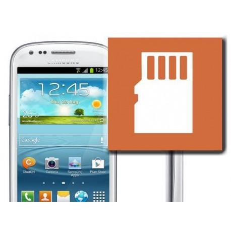 [Réparation] Lecteur Carte SIM / Carte Mémoire ORIGINAL - SAMSUNG Galaxy S4 Mini - i9195