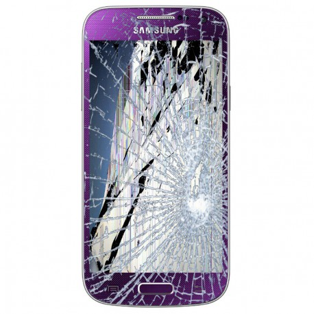 Forfait Réparation Bloc Avant Pourpre ORIGINAL - SAMSUNG Galaxy S4 Mini i9195