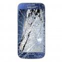 [Réparation] Bloc Avant ORIGINAL Bleu - SAMSUNG Galaxy S4 Mini - i9195