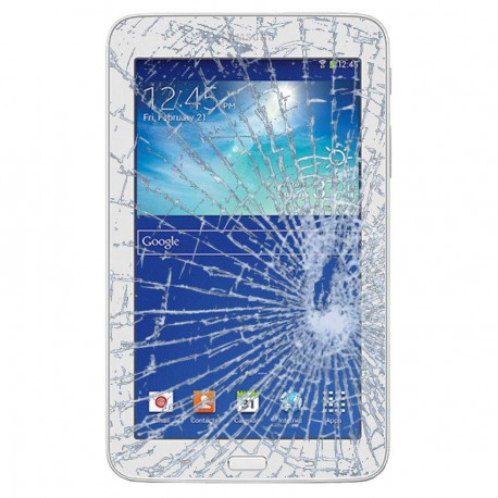 [Réparation] Vitre Tactile Blanche - SAMSUNG Galaxy TAB 3 7.0 - T210