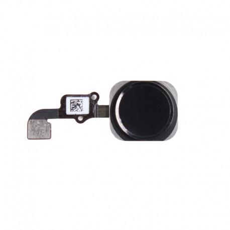 Nappe de bouton HOME Noir Complète + Touch ID ORIGINAL - iPhone 6S - iPhone 6S Plus