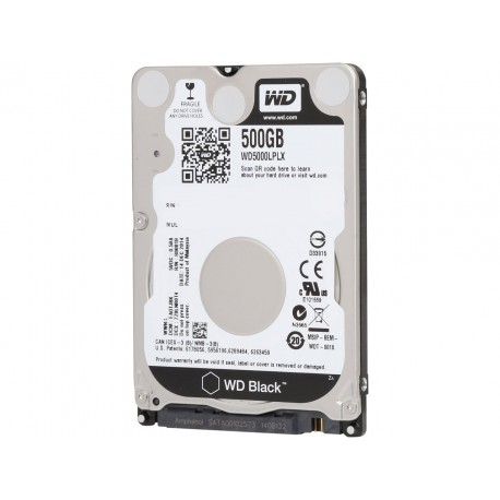 Disque Dur 2.5p - Western Digital BLACK 500GB - Sata 3