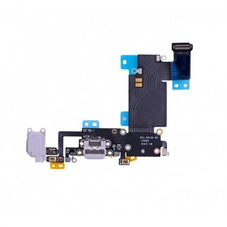 Connecteur de Charge ORIGINAL Gris Clair - iPhone 6S Plus Argent