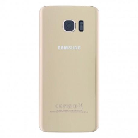 Vitre Arrière ORIGINALE Or - SAMSUNG Galaxy S7 Edge - G935F